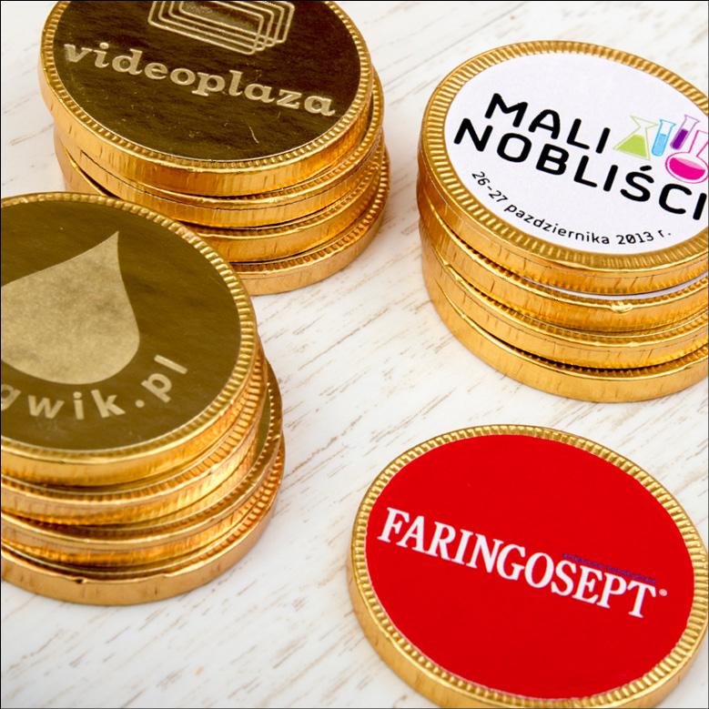 Schokoladen-Münzen
