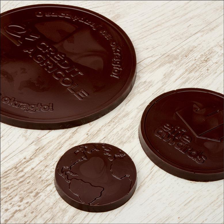 Schokoladen-Medaille