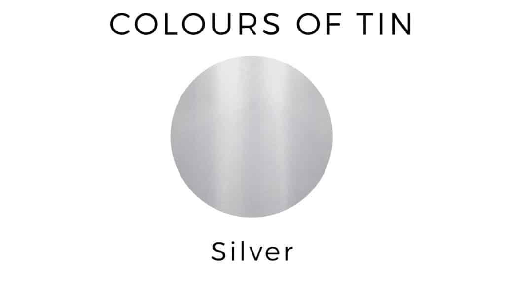 Colours of tin